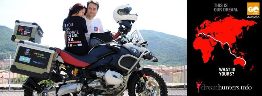 De Barcelona a Sydney en moto