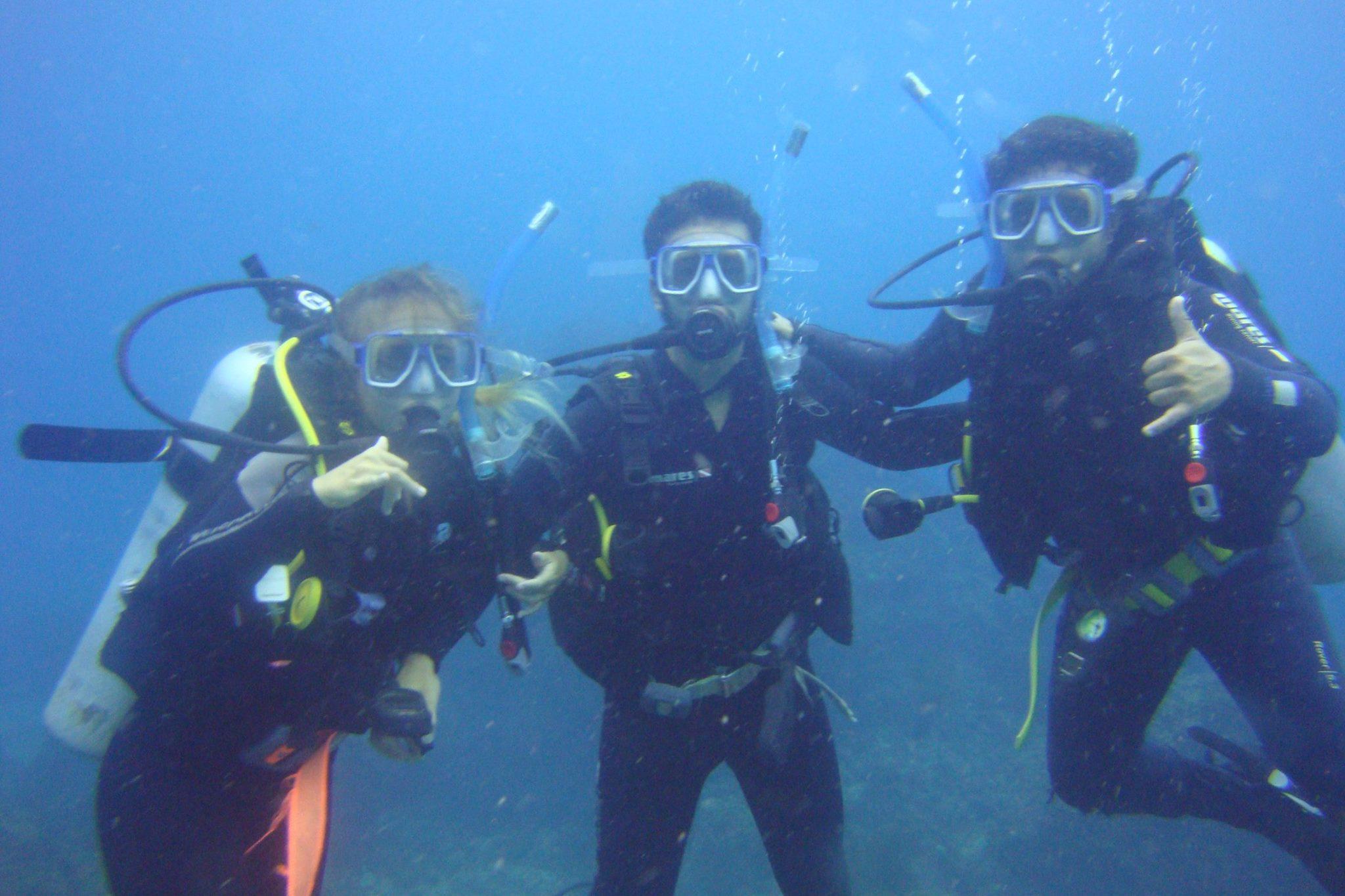 Españoles submarinismo Australia