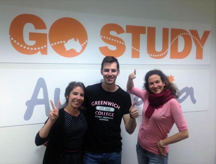 Oficina Go Study Australia en Melbourne