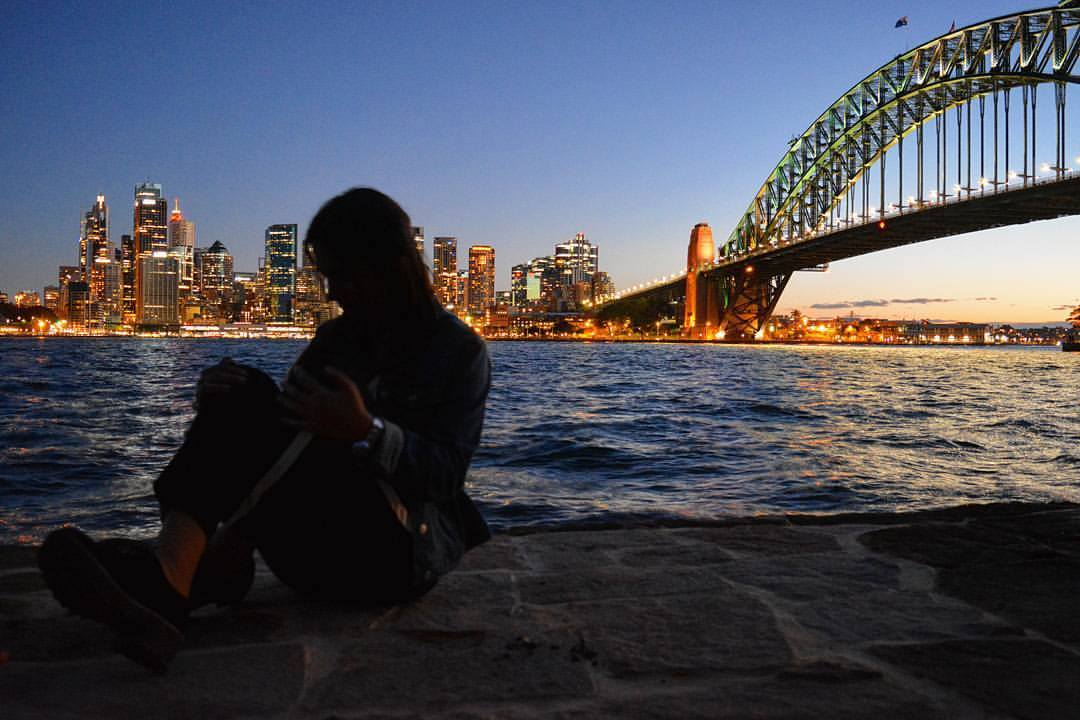 Laura Partal Sydney Australia Puente skyline