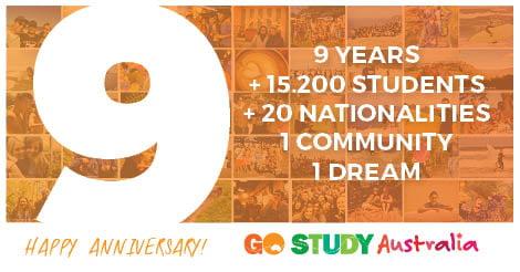 9º Aniversario Go Study Australia