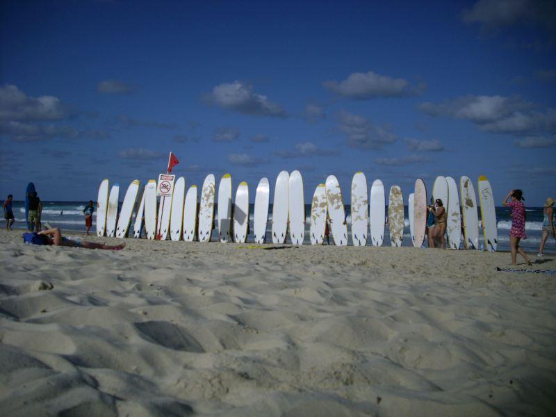 Surfear en Gold Coast