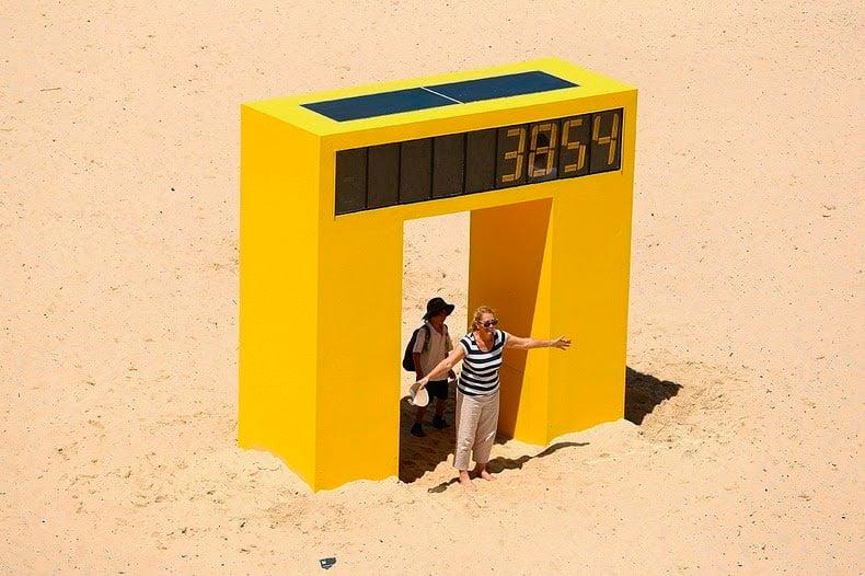 Escultura por el mar Una exposición al aire libre en la playa de Bondi (4)
