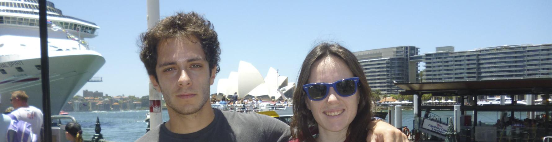Espanoles en Australia: Guillermo en Sydney