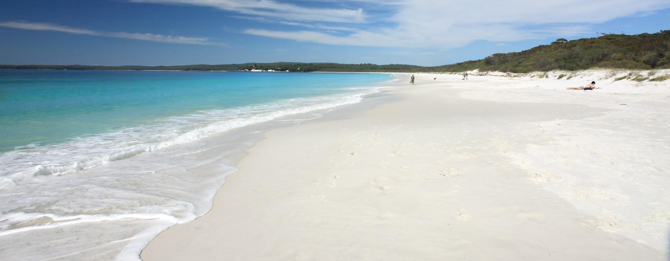 Hyams Beach, playa blanca
