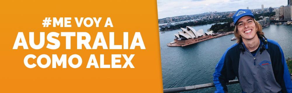 Me voy a Australia como Alex Puertolas