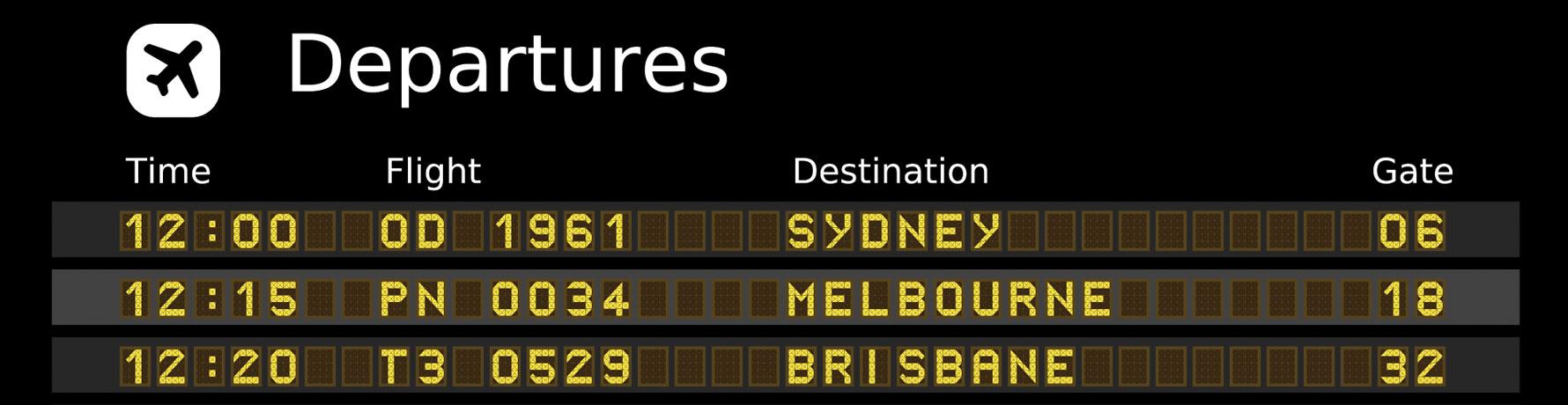 Aeropuertos en Australia