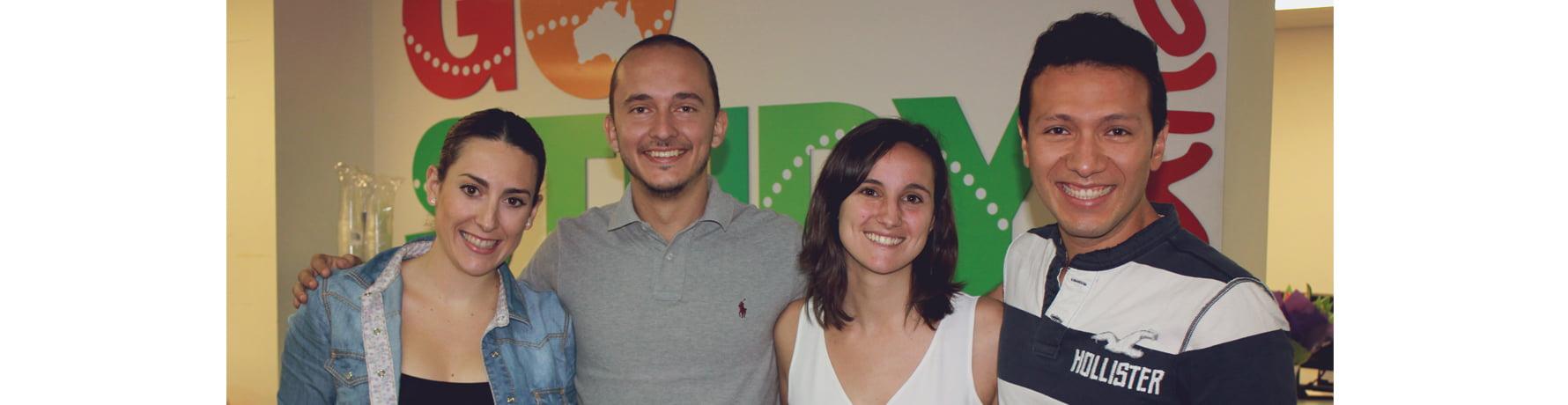 Almudena en Go Study Sydney