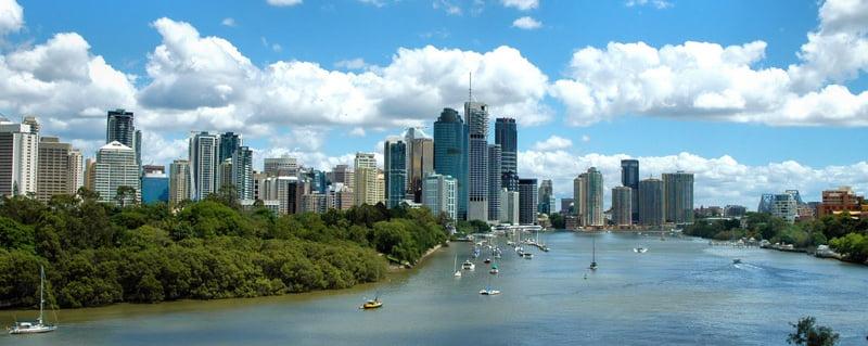 estudiantes en Brisbane
