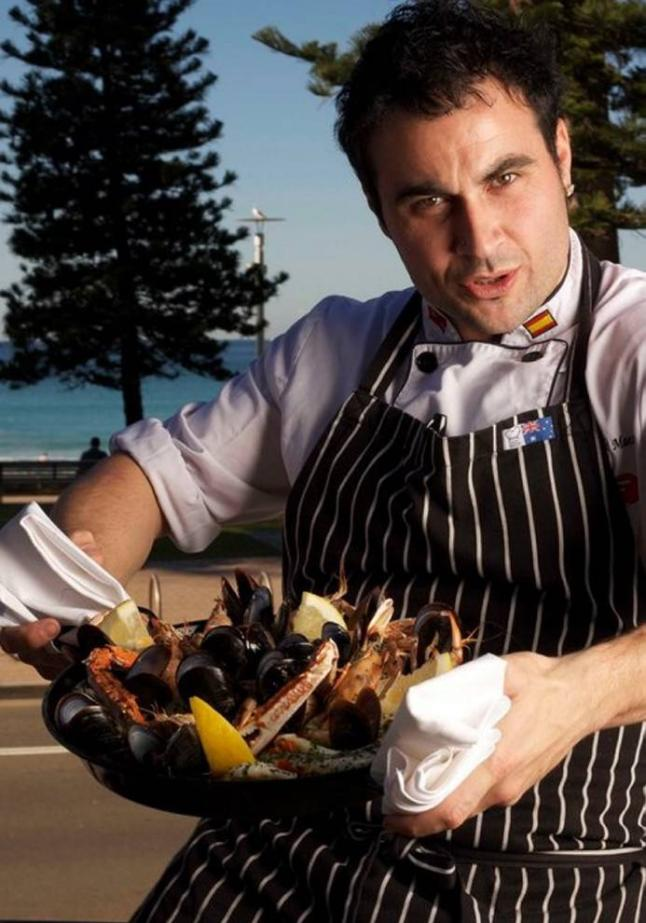 Miguel Maestre, chef español en Australia