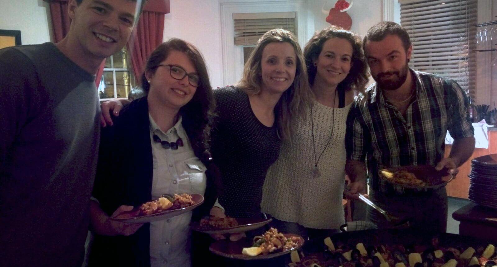 Paella española en Melbourne