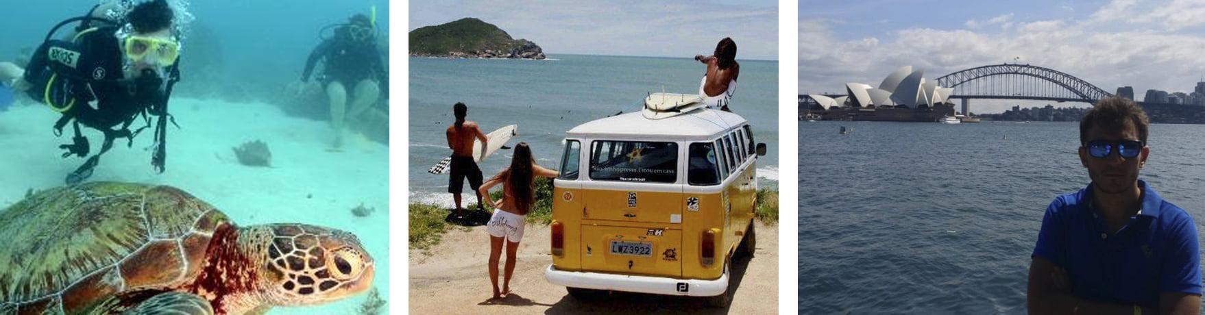 Cairns-Sydney: Como viajar por la costa este en una Van