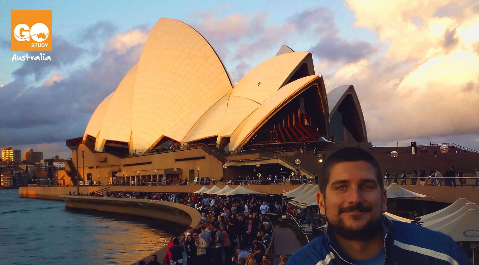 Roger, cocinero en Sydney